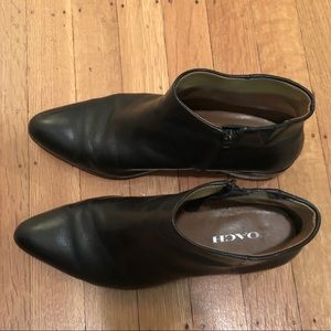 Coach Genuine Black Leather Size 8.5 Boots